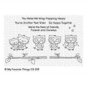 My Favorite Things Forever and Owlways Stamp Set