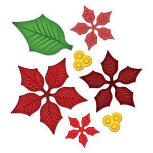 Spellbinders Layered Poinsettia