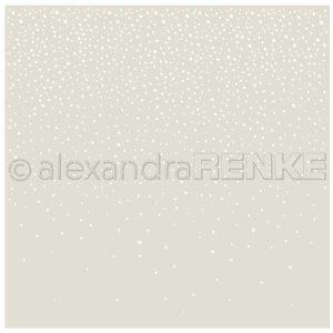 Alexandra Renke Falling Snow Stencil