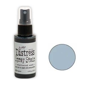 Tim Holtz Distress Spray Stain – Weathered Wood class=
