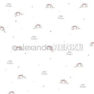 Alexandra Renke Merry Christmas Gifts Design Paper