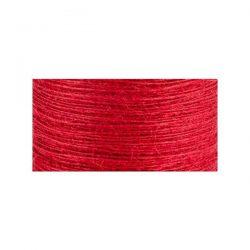 May Arts Burlap String – Red
