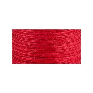 May Arts Burlap String - Red/ 3yds class=