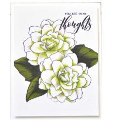 Altenew Wispy Begonia Stamp Set