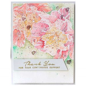 Altenew Engagement Wishes Stamp Set class=