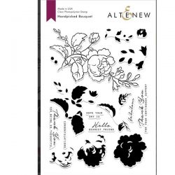 Altenew Handpicked Bouquet Stamp Set