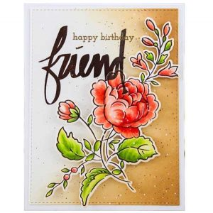 Altenew Handpicked Bouquet Stamp Set class=