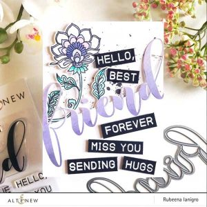 Altenew Mega Greetings 3 Stamp Set class=