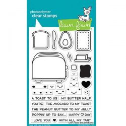 Lawn Fawn Let's Toast Stamp Set