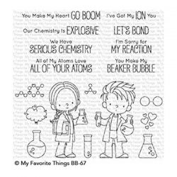 My Favorite Things BB Cute Chemists Stamp Set