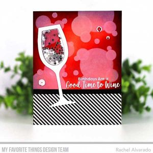 My Favorite Things Good Time to Wine Stamp Set class=