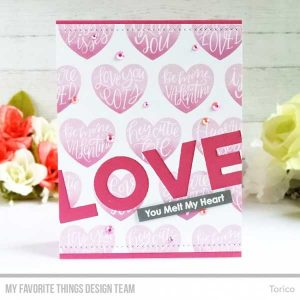 My Favorite Things Heart Art Stamp Set class=
