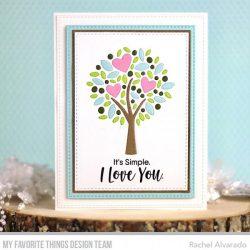 My Favorite Things Sweet Nothings Stamp Set