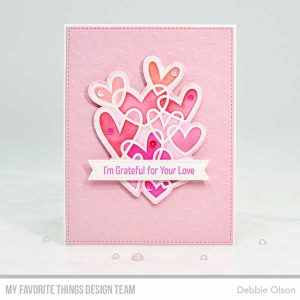 My Favorite Things Hearts Entwined Stamp class=