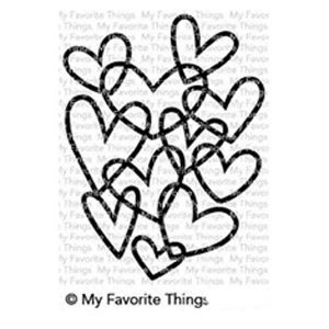 My Favorite Things Hearts Entwined Stamp