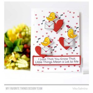 My Favorite Things Tweethearts Stamp Set class=