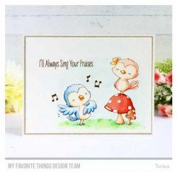 My Favorite Things Tweet Friends Stamp Set
