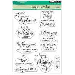 Penny Black Kisses & Wishes Stamp Set