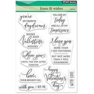 Penny Black Kisses & Wishes Stamp Set class=