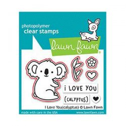 Lawn Fawn I Love You (calyptus) Lawn Cuts