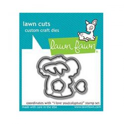 Lawn Fawn I Love You (calyptus) Lawn Cuts
