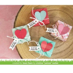 Lawn Fawn Heart Treat Box Lawn Cuts class=