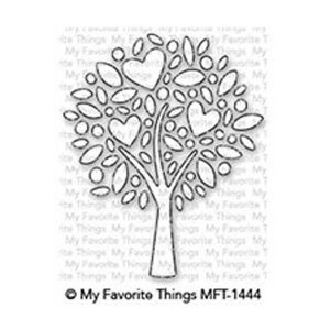 My Favorite Things Heart Tree Die-namics