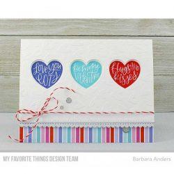 My Favorite Things Heart Trio Shaker Window Die-namics