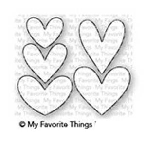 My Favorite Things Lots Of Hearts Die-namics