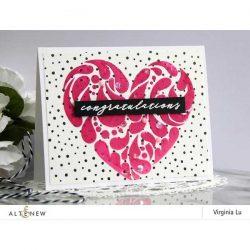 Altenew Flowing Hearts Stencil