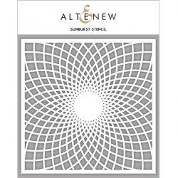 Altenew Sunburst Stencil