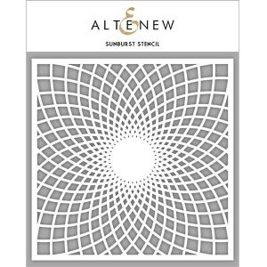 Altenew Sunburst Stencil