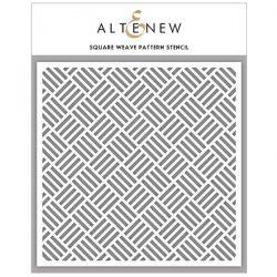 Altenew Square Weave Pattern Stencil