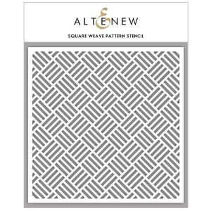 Altenew Square Weave Pattern Stencil