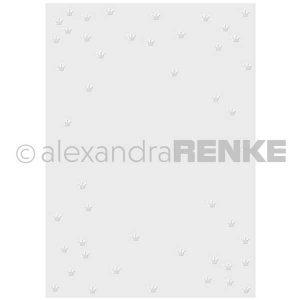 Alexandra Renke Crowns Embossing Folder