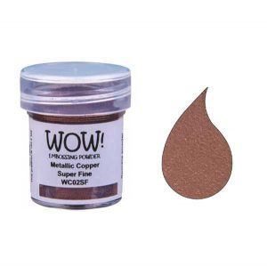 WOW! Metallic Copper Super Fine Embossing Powder class=