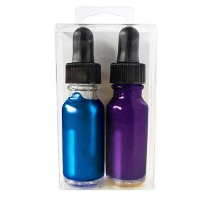 Hero Arts Purple & Blue Glimmer Metallic Inks class=