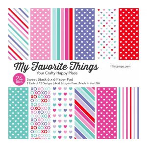 My Favorite Things Sweet Stack Paper Pad