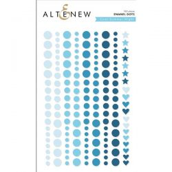 Altenew Cool Summer Night Enamel Dots