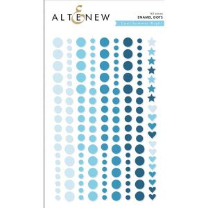 Altenew Cool Summer Night Enamel Dots