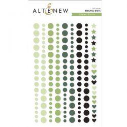 Altenew Green Fields Enamel Dots