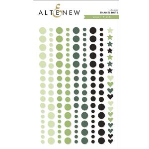 Altenew Green Fields Enamel Dots class=