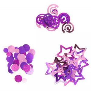 Darice Pink Metallic Confetti