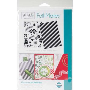 Gina K Designs Foil-Mates - Ornamental Holiday class=