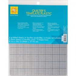 EZ Quilting Plastic Templates (grids)