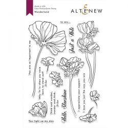 Altenew Wonderland Stamp Set
