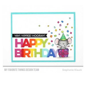 My Favorite Things Happy Birthday Blend Stamp Set class=