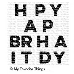My Favorite Things Happy Birthday Blend Stamp Set