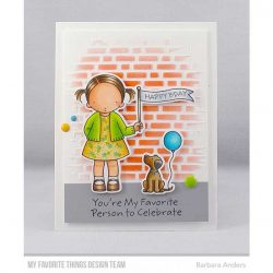 My Favorite Things Pure Innocence Birthday Buddies Stamp Set