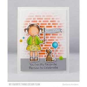 My Favorite Things Pure Innocence Birthday Buddies Stamp Set class=